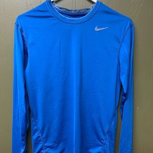 Nike Long Sleeve Compression Shirt Large